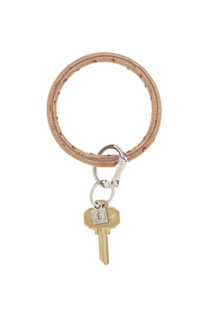 big leather key ring