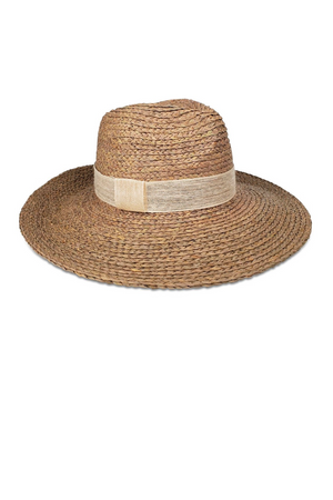 Modern Sunhat - Taupe / Ivory