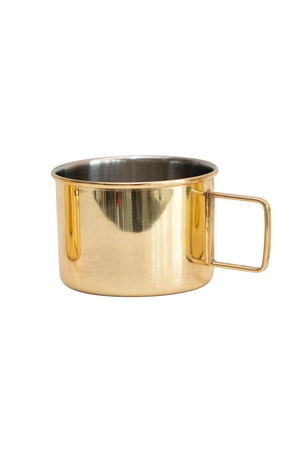 Moscow Mule Mug, Brass Finish