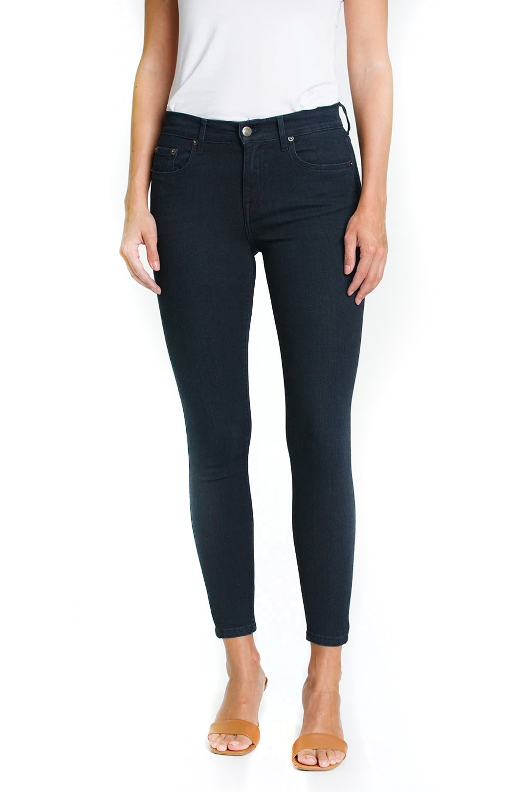 mid rise skinny jeans
