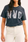 NYC Peace Sign Tee