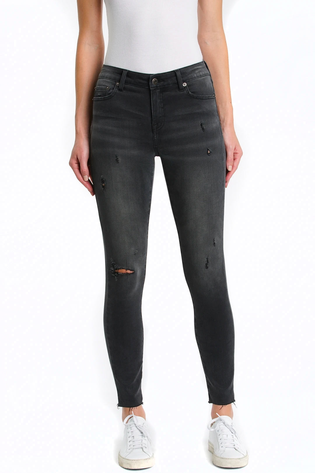 Audrey Mid Rise Skinny - Libson