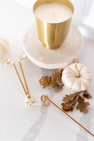 Gilded Tumbler Candle