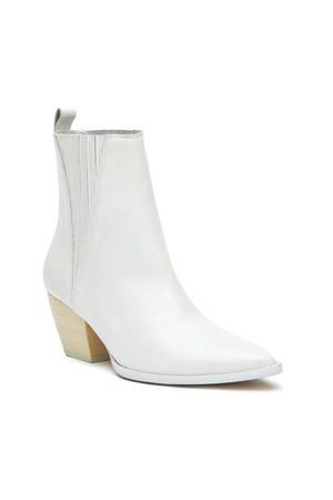 Elevation White Bootie