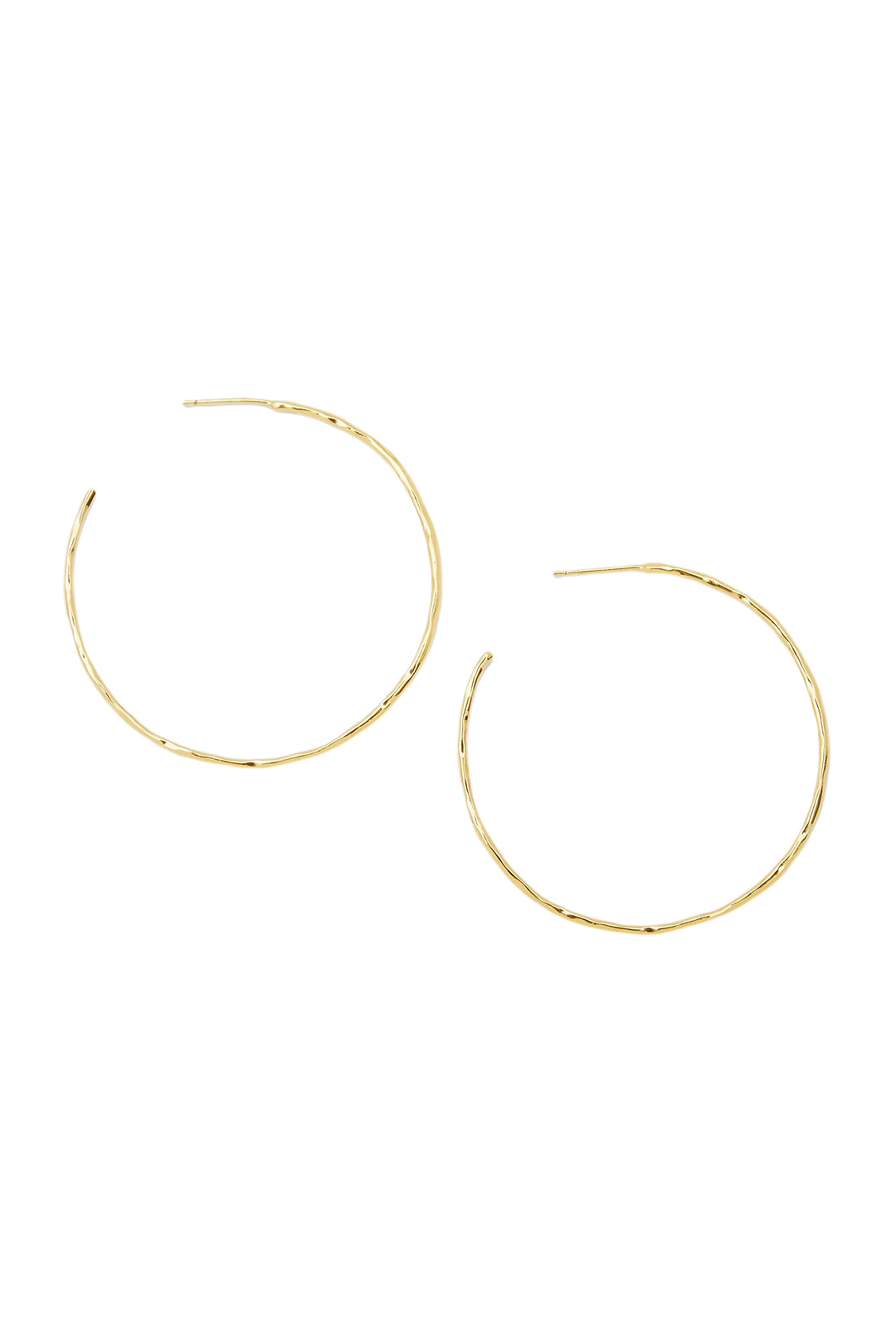 tanner gold hoops