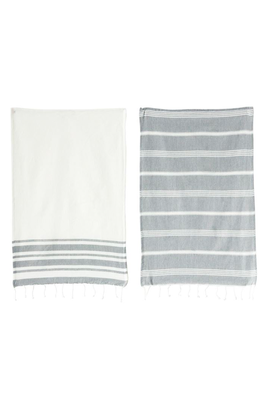 Cotton Woven Tea Towel, 2 Styles