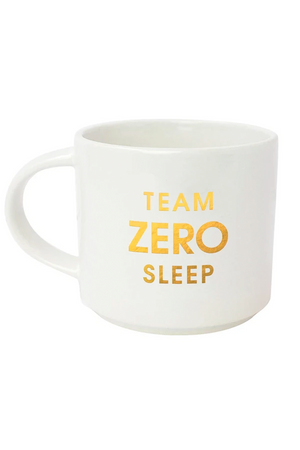 team zero sleep coffee mug
