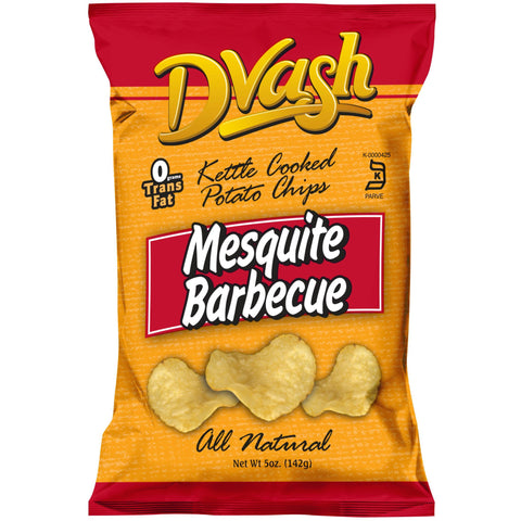 Dvash - Kettle Cooked Potato Chips - BBQ - 12/5 oz