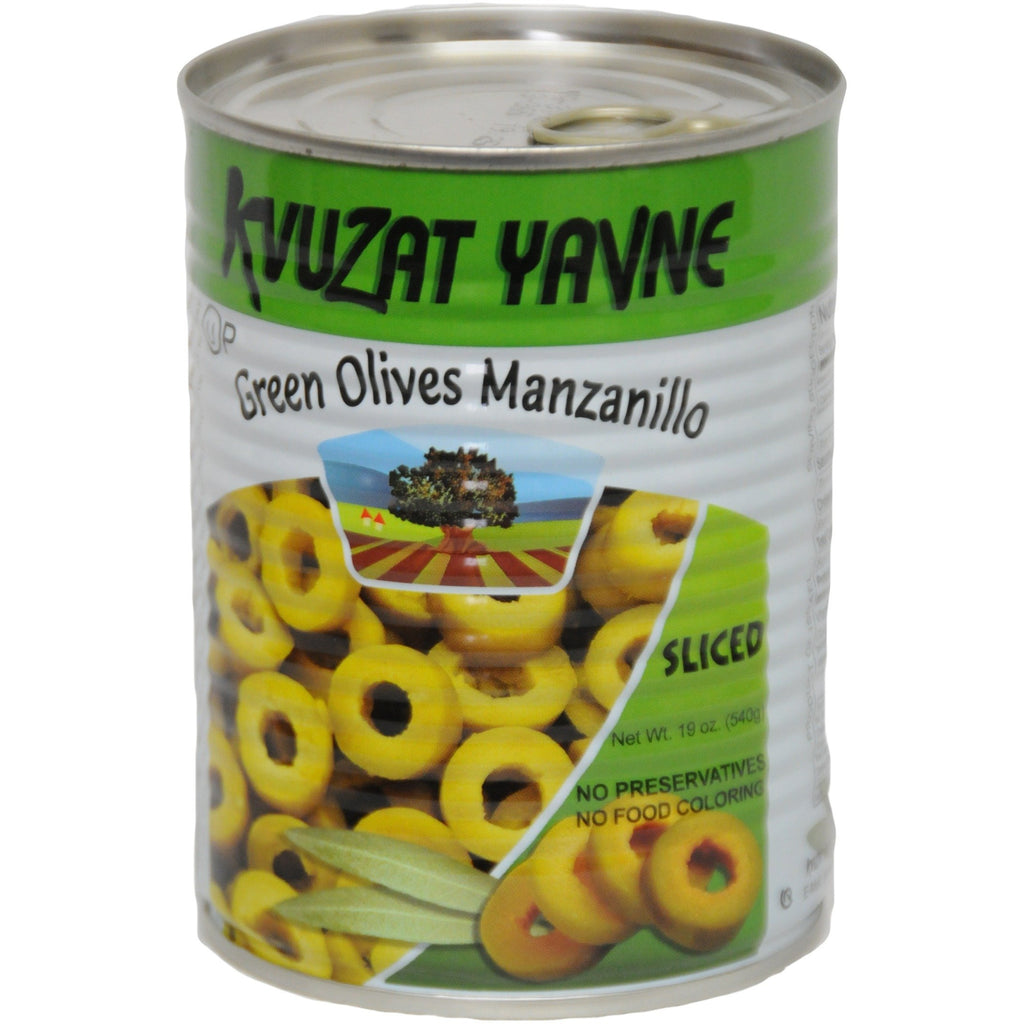 Green Sliced Olive Rings 24/19 oz