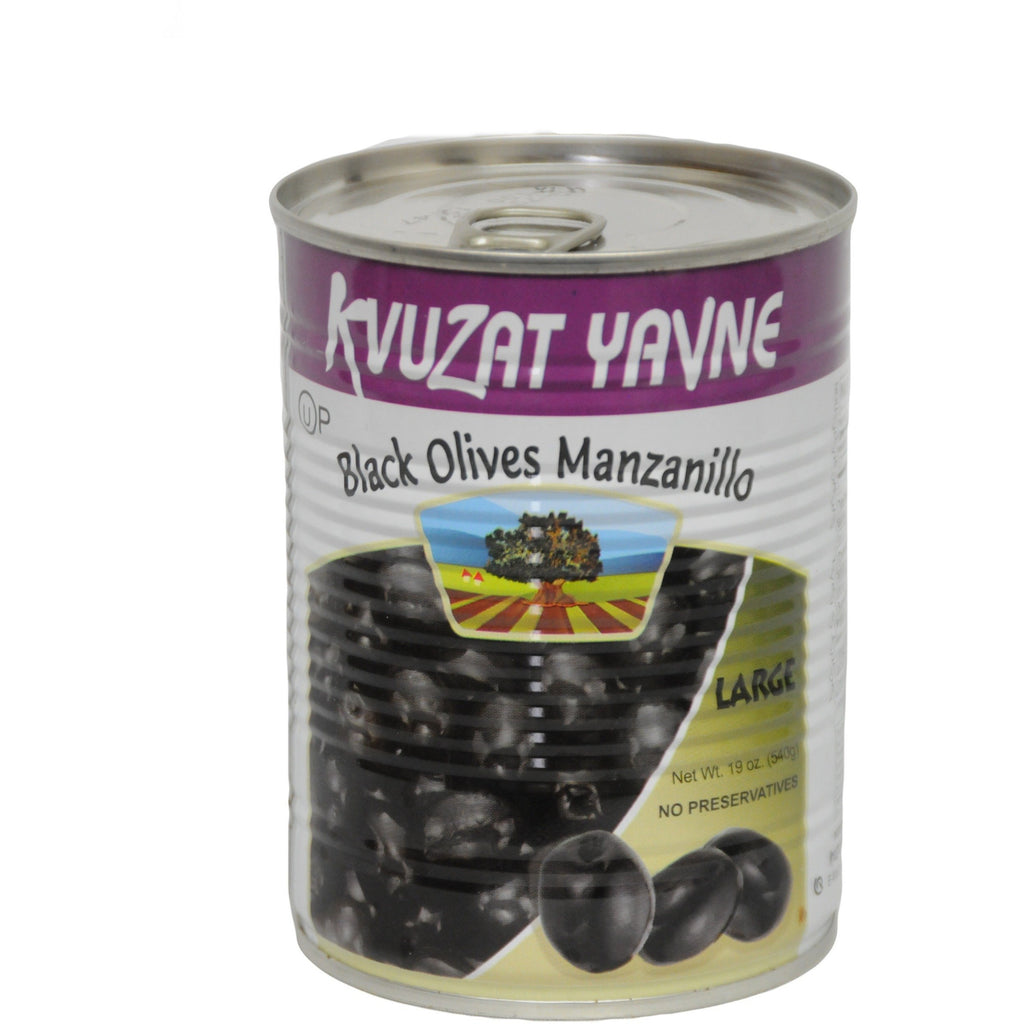 Black Manzanillo Olives LG 24/19 oz
