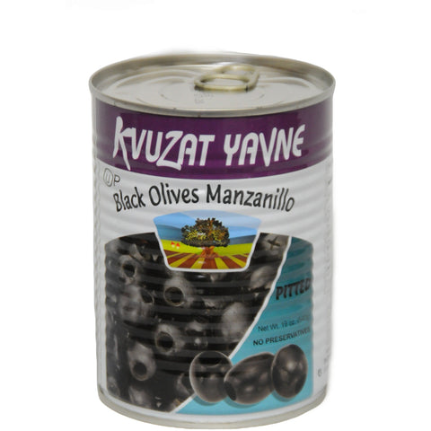 Black Pitted Olives 24/19 oz