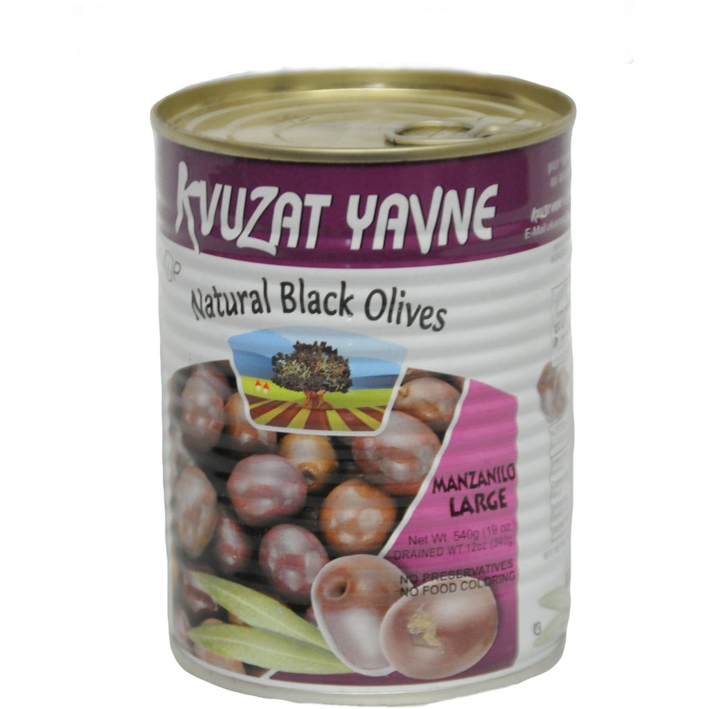 Natural Black Olives 24/19 oz