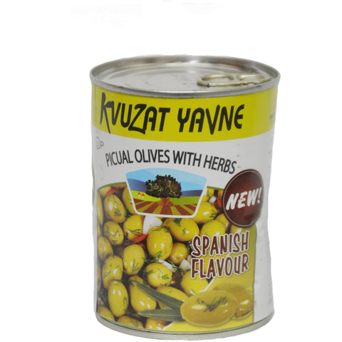 Spanish Olives With Herbs 24/19 oz