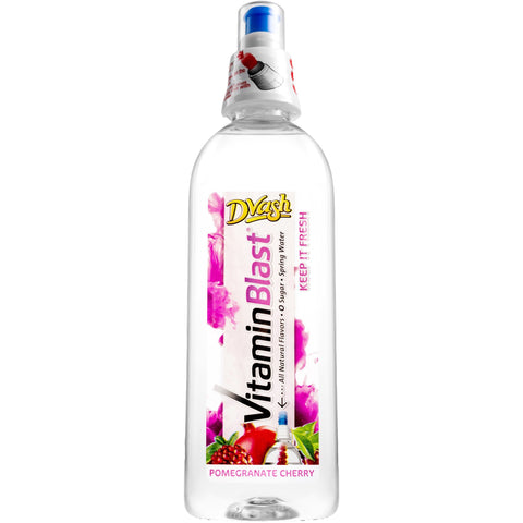 Dvash Vitamin Blast - Pomegranate Cherry - 12/16.9 oz.