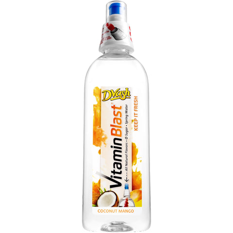 Dvash Vitamin Blast - Coconut Mango - 12/16.9 oz.