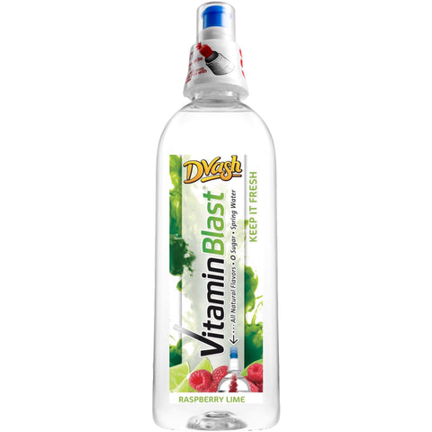 Dvash Vitamin Blast - Raspberry Lime - 12/16.9 oz.