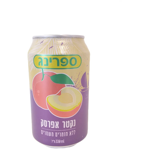 Spring Can - Fruit Drink - Nectar Peach 24/330ml