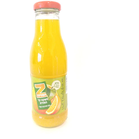 Spring Glass - Tapuzina Fruit Drink - Orange 24/330ml