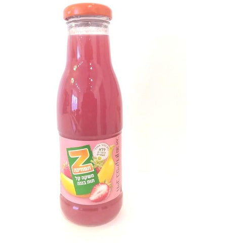Spring Glass - Tapuzina Fruit Drink - Strawberry-Banana 24/330ml