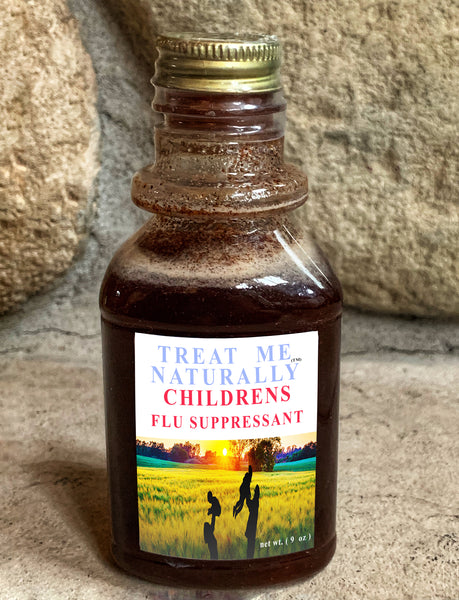 TREAT ME NATURALLY™  Children's Flu Suppressant