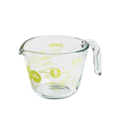 Pyrex 1 Cup 100th Anniversary Measuring Cup - Green
