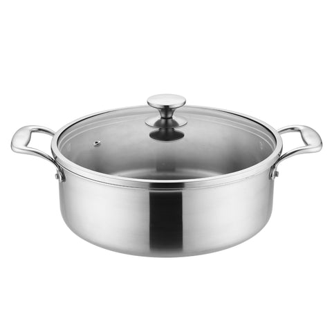26 cm Stainless Steel Cooking Pot