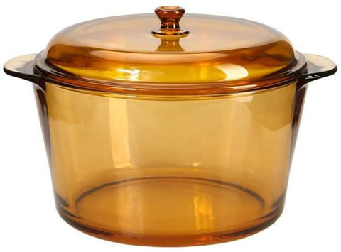 Pyroflam Round Glass Cookware-5L