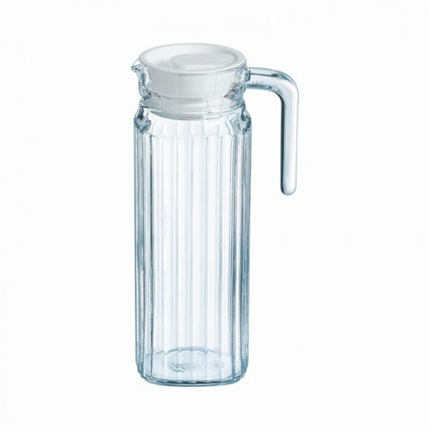 Luminarc 1L Glass Pitcher + Lid - Quadro