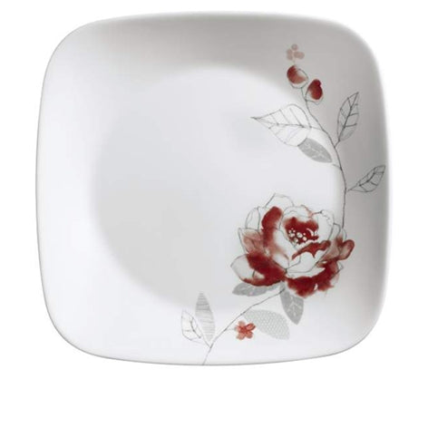 "Corelle Blushing Rose 8.75"" Salad Plate"