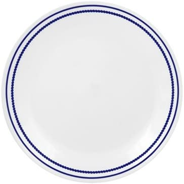 "Corelle 8.5"" Lunch Plate - Breathtaking Blue Beads"