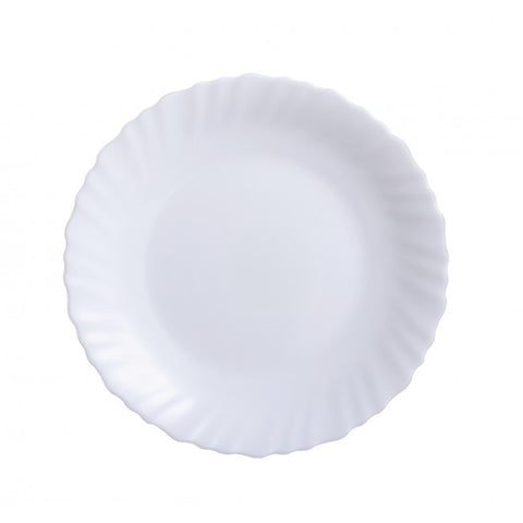 Dessert Plate 19cm - Feston White - Luminarc