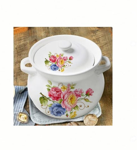 Ceramic Soup Pot 1.6L - Rose