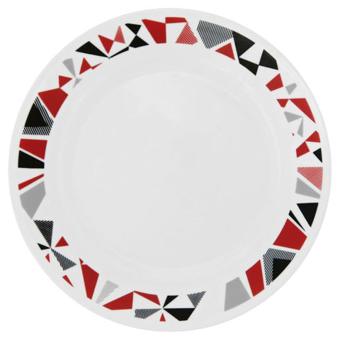 "Corelle 10.25"" Dinner Plate - Mosaic Red"