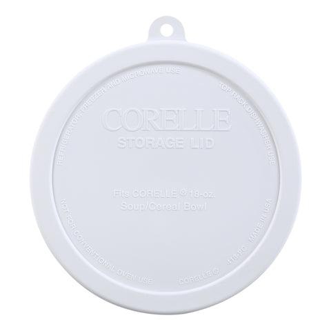 Corelle White Lid 18-ounce Bowl