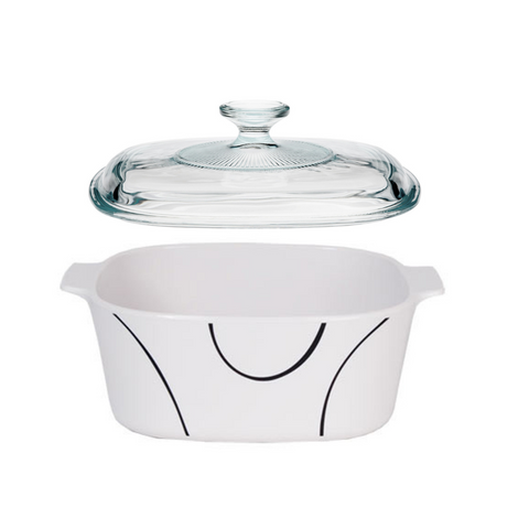 Corningware Simple Lines 3-liter Casserole Dish