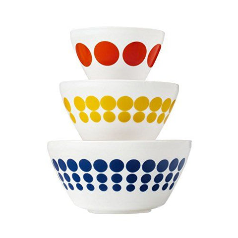Pyrex 3pc Bowl Set Spot On