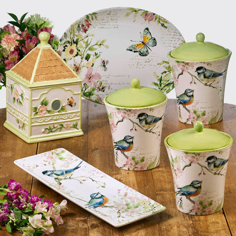 3pc Canister Set-Spring Meadow