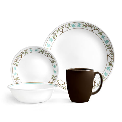 Corelle Tree Bird 16-piece Dinnerware Set