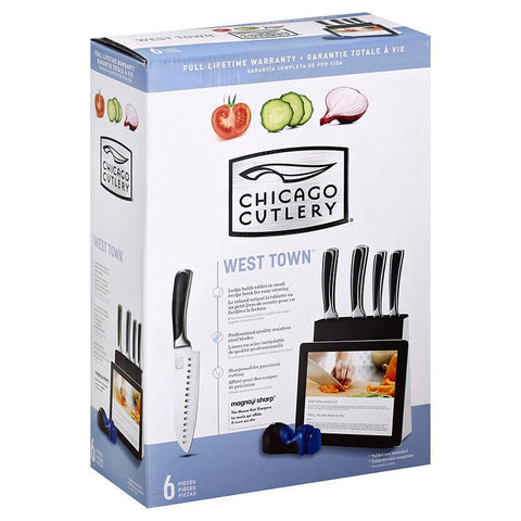 Chicago Cutlery West Town 6 Piece Knife Set