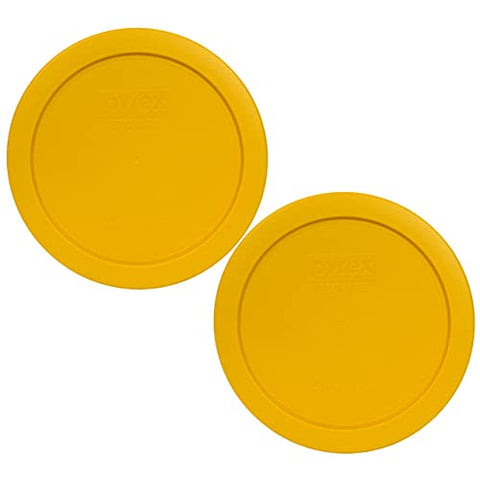 4 Cup Pyrex Replacement Lids Set of 2-Yellow