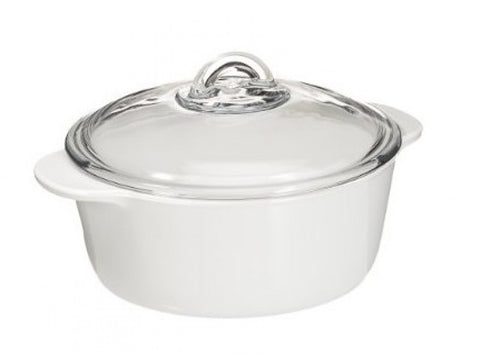 Pyroflam Round Glass Cookware-1L