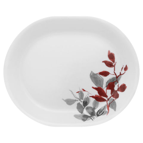 "Corelle Kyoto Leaves 12.25"" Serving Platter"