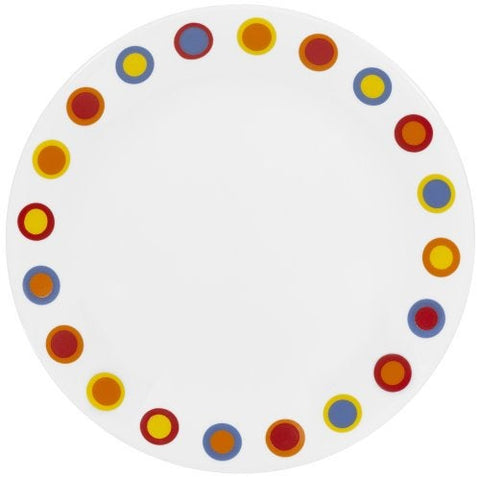 "Corelle 8.5"" Lunch Plate - Hot Dots"