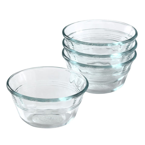 Pyrex 4 piece 6-ounce Custard Cup Set