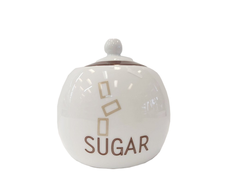 "Luminarc 4"" Footed Sugar Bowl"