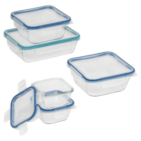 Snapware 10-piece Food Storage Container Set made with Pyrex Glass