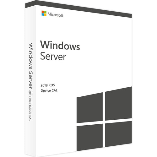 Windows Server 2019 RDS (Remote Desktop Server) Device - Ma Licence