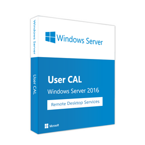 Windows Server 2016 RDS - 1 User/Device CAL - Ma Licence