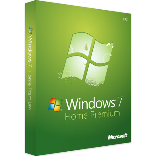 Windows 7 Familiale Premium - Ma Licence