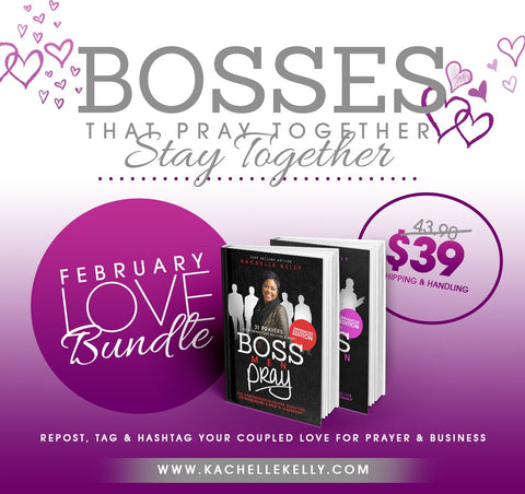 Love Bundle: Boss Women Pray + Boss Men Pray